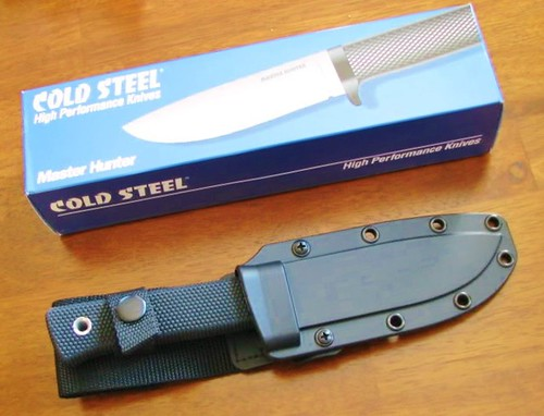 "Cold Steel Master Hunter VG-1 Stainless 4-1/2"" Steel Blade"