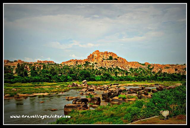 Hampi: Tungabhadra River