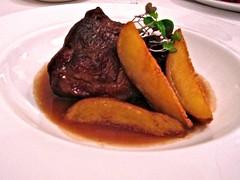 Jarrete de ternera - Restaurante Goizeko Kabi'ar - Madrid