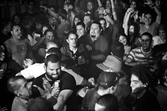 image of mosh pit photographed by Joselin Ramos