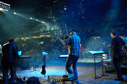 On Stage, Hershey Centre, November 2011