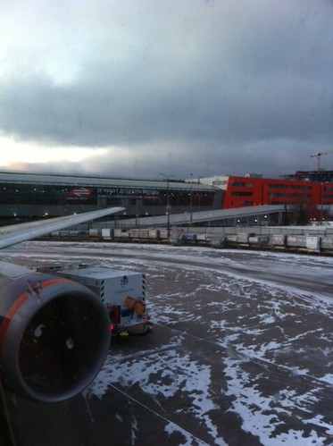 Leaving grey and snowy Moscow, happy to be back home in Shanghai in 12 hours