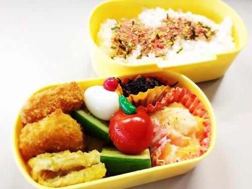 今日のお弁当 No.225 – たらこ