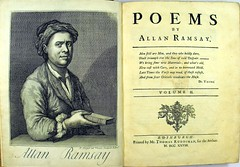 Allan Ramsay's 'Poems' (Edinburgh: 1721). BD16-b.13-14