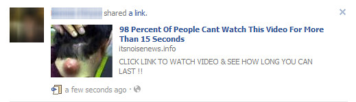 98 Percent of People Can't Watch This Video for More Than 15 Seconds
