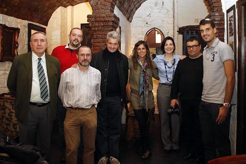 Mikel Agirregabiria, Imanol Ormaechea, Iñaki Murua, Fernando Canales, Virginia Berasategui,Maider Barrondo, Josu Garro, Andrés Novo