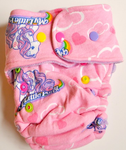 One Size Original Bum My Little Pony HTF Cotton Velour