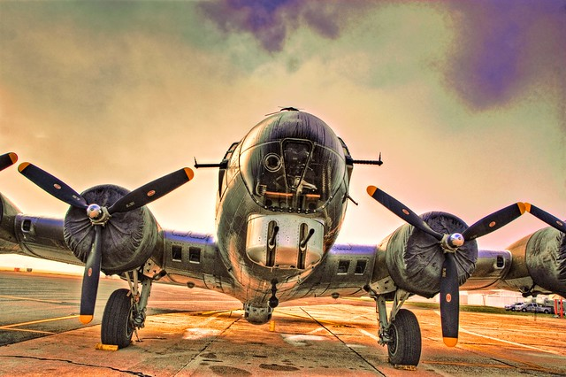 B-17 Flying Fortress ''Salute to Veterans'' Tour