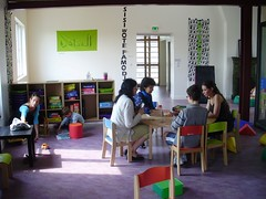 l'espace parents-enfants au grenier