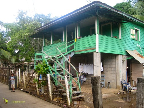 Stilt Caribbean Style House on Utila Honduras