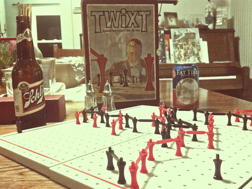 TWIXT! Ingenious New [sic] Strategy Game For Two.