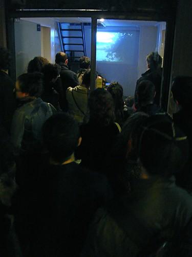 Inauguracion de TROPICO #2 De La Possibilitat d'estar a Tot Arreu de Txalo Toloza Fernandez.