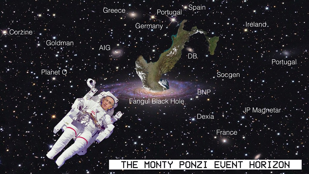THE MONTY PONZI EVENT HORIZON