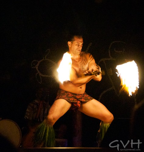Fireknife Dancer at Legends of the Pacific Luau