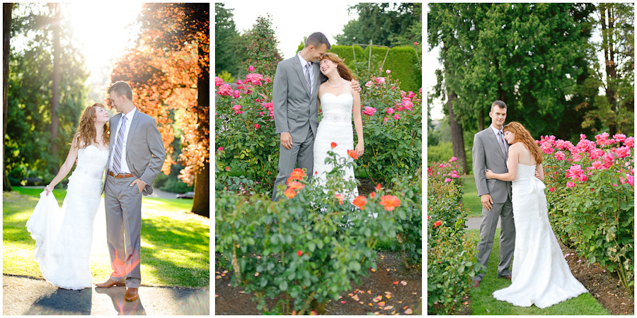 Washington Park Portland Wedding
