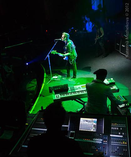Glenn Hughes & the band at CKZ Avrora