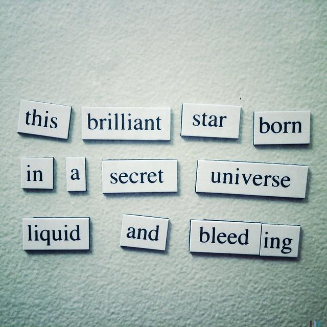 This brilliant star born