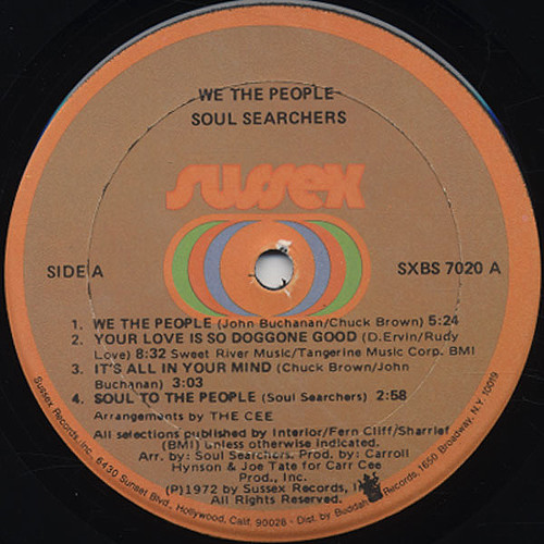 We The People LP label 1