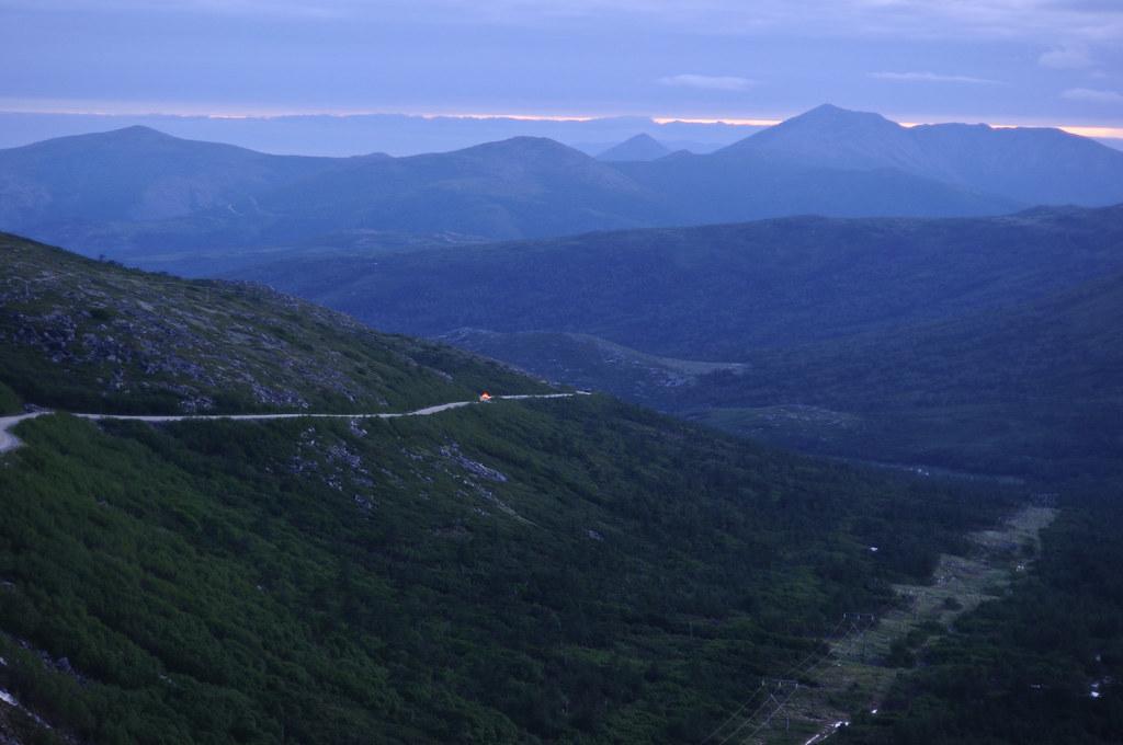 "Magadan. The ""Tenkovskaya"" road to Yakutsk"