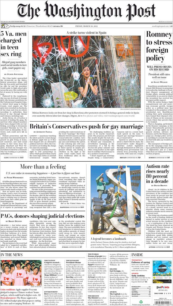 Portada 29M The Washington Post