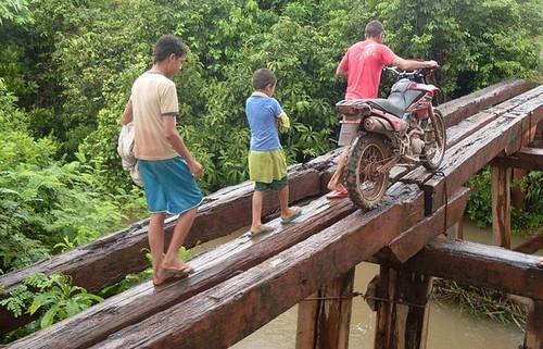 Pontes na PA 254. Foto: Wildson Queiroz