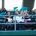 Young fans cheered for the Honolulu  Dillinghammas at the UH AUW Softball Tourment at Les Murakami Stadium on Sept. 30, 2011