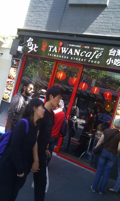 Taiwan Cafe Swanston Street