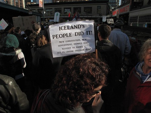 Iceland's people did it! New constitution, new government, dumped debt slavery to banks - let us choose freedom now!