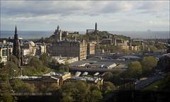 Looking East from Edinburgh Castle