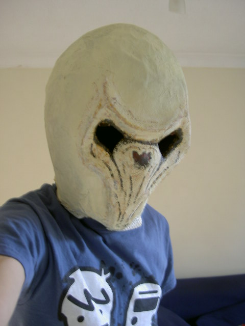 Dr Who The Silence Mask