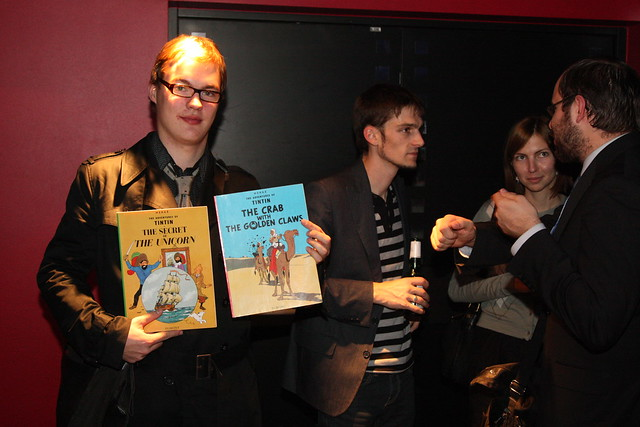"Premiere of ""The Adventures of Tintin"" in Solaris Cinema, October 26, 2011"