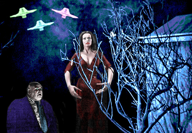 Old Movie Star Pals, Tor Johnson and Vampira are Reunited…