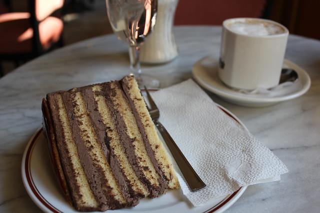 Torta Dobos en la Dobos Cukrászda de Eger