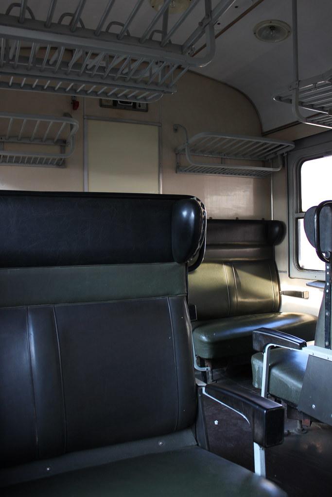 Vagón del tren a Eger