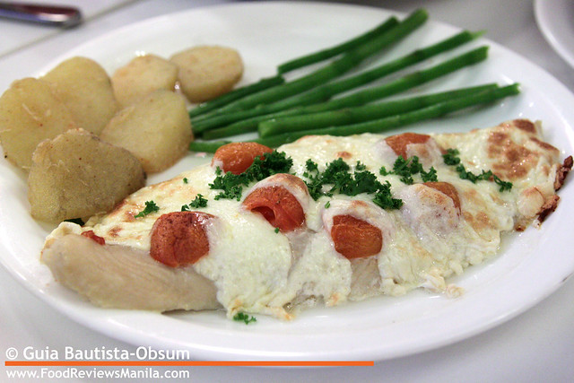 Secret Recipe Mozzarella Baked Fish
