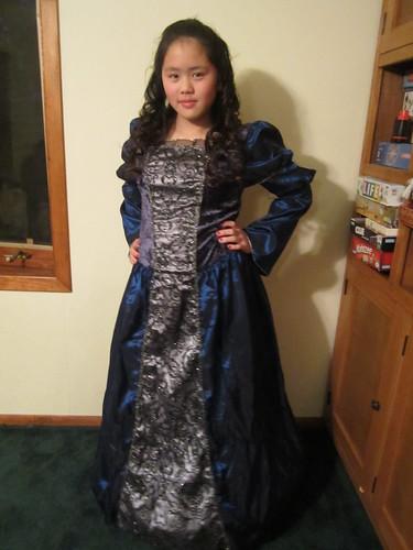 Sophia on Halloween