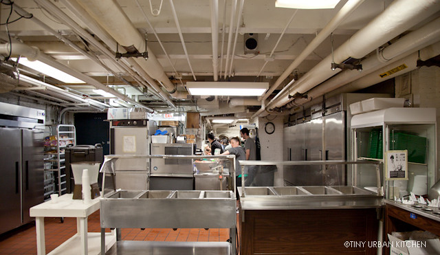 Boston Rescue Mission's tiny urban kitchen