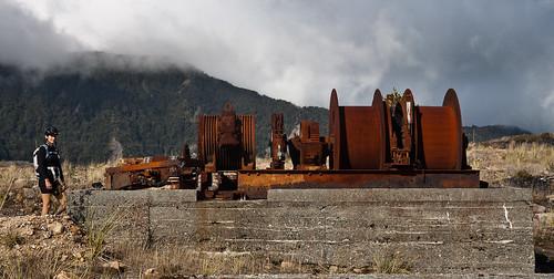 Viele Jahrzehnte lang war Denniston Neuseelands größtes Kohlebergwerk.