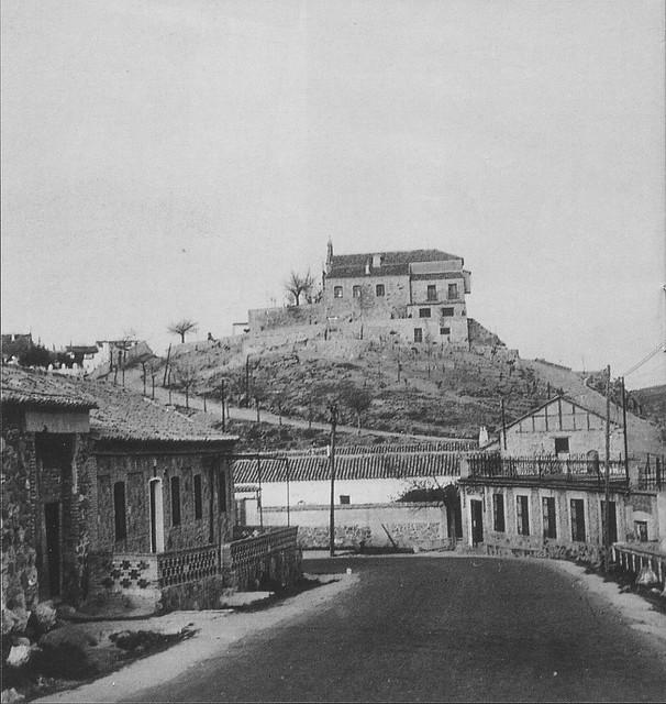 Ermita de la Cabeza a comienzos del siglo XX. Foto Rodríguez