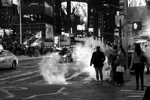 Steam at Times Square