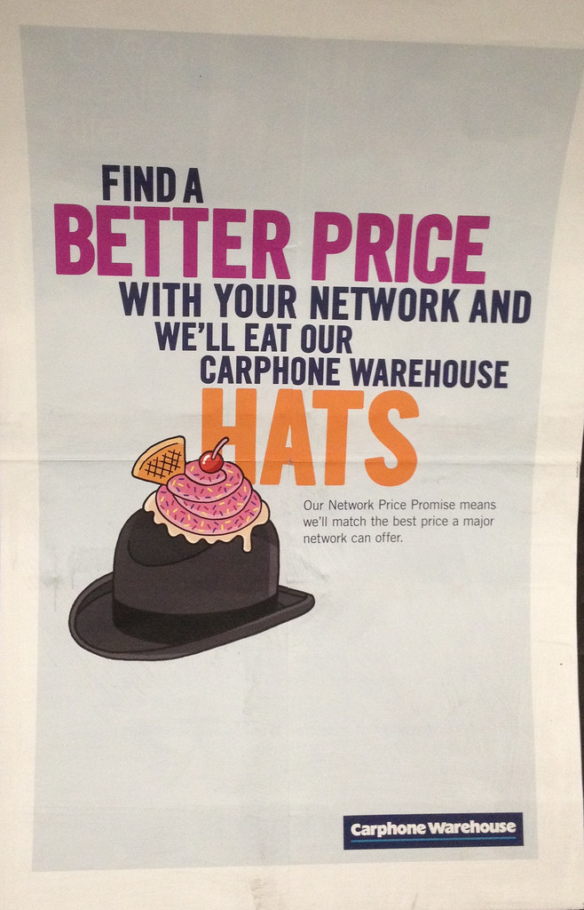 Network Price Promise from Carphone Warehouse