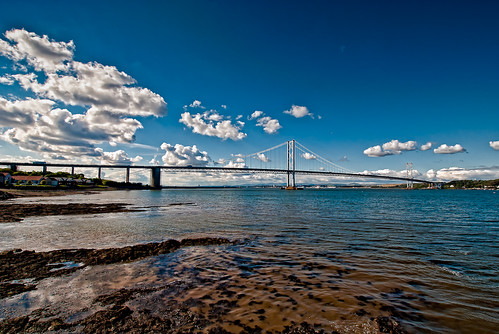 Forth Road Bridge Scotland