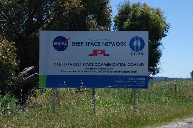NASA JPL - Canberra Deep Space Communication Complex, Tidbinbilla