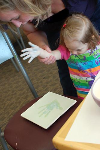 yay, handprint!