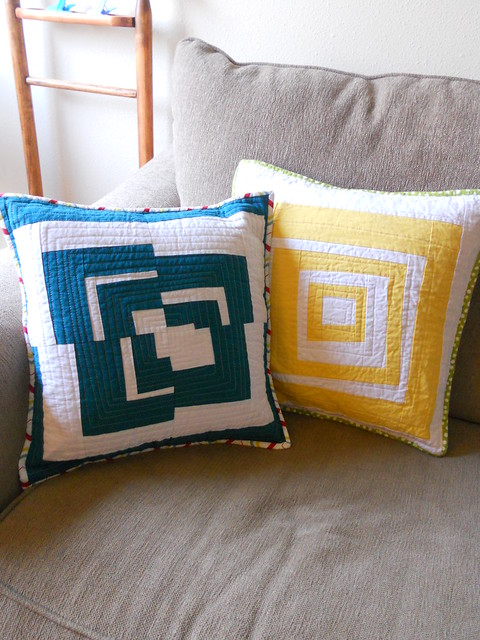 Linen pillows
