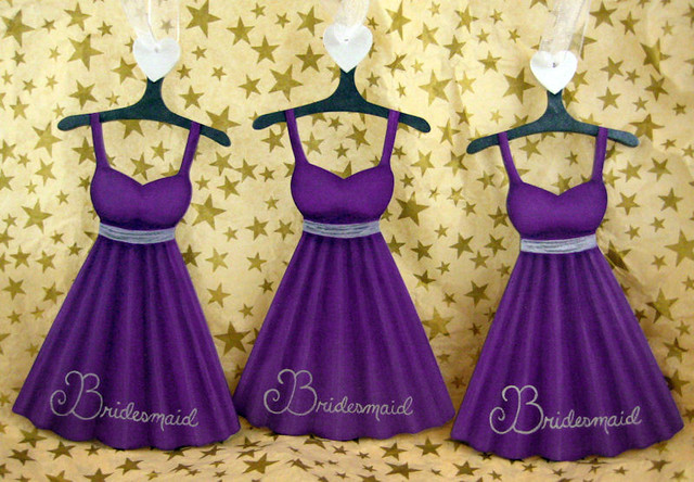 Bridesmaid Dresses Purple And Silver - Wedding Guest Dresses