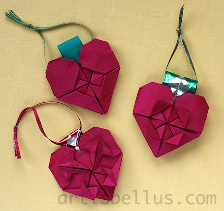 Paper Christmas 27 Photos | Heart Ornaments | 659