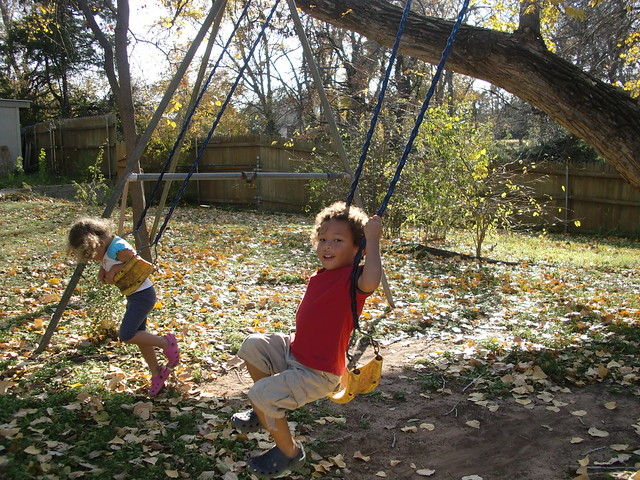Swinging in the Sunshine