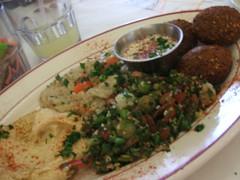 Vegetarian plate 1