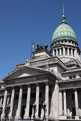 Palacio del Congreso in Buenos Aires